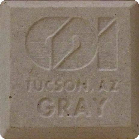 precast concrete color gray