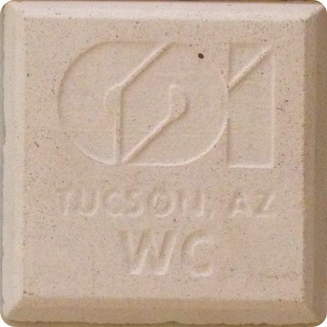 precast concrete color white