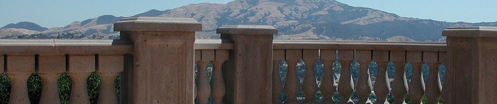 precast concrete balustrade