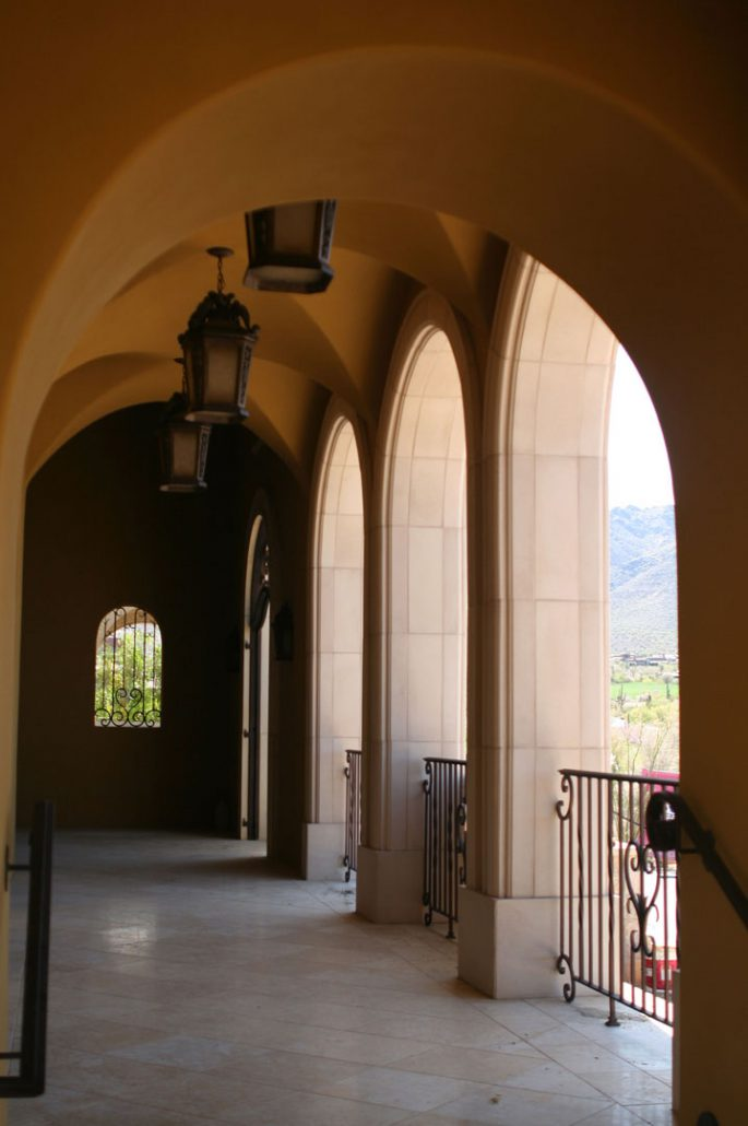 precast concrete arched opening