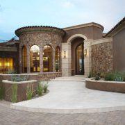 precast concrete residential hardscape