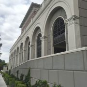 evaps precast concrete commercial molding and banding arch