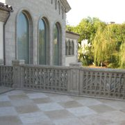 precast concrete residential balustrade screen