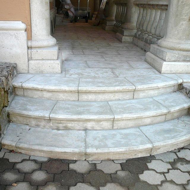 precast concrete paver coping