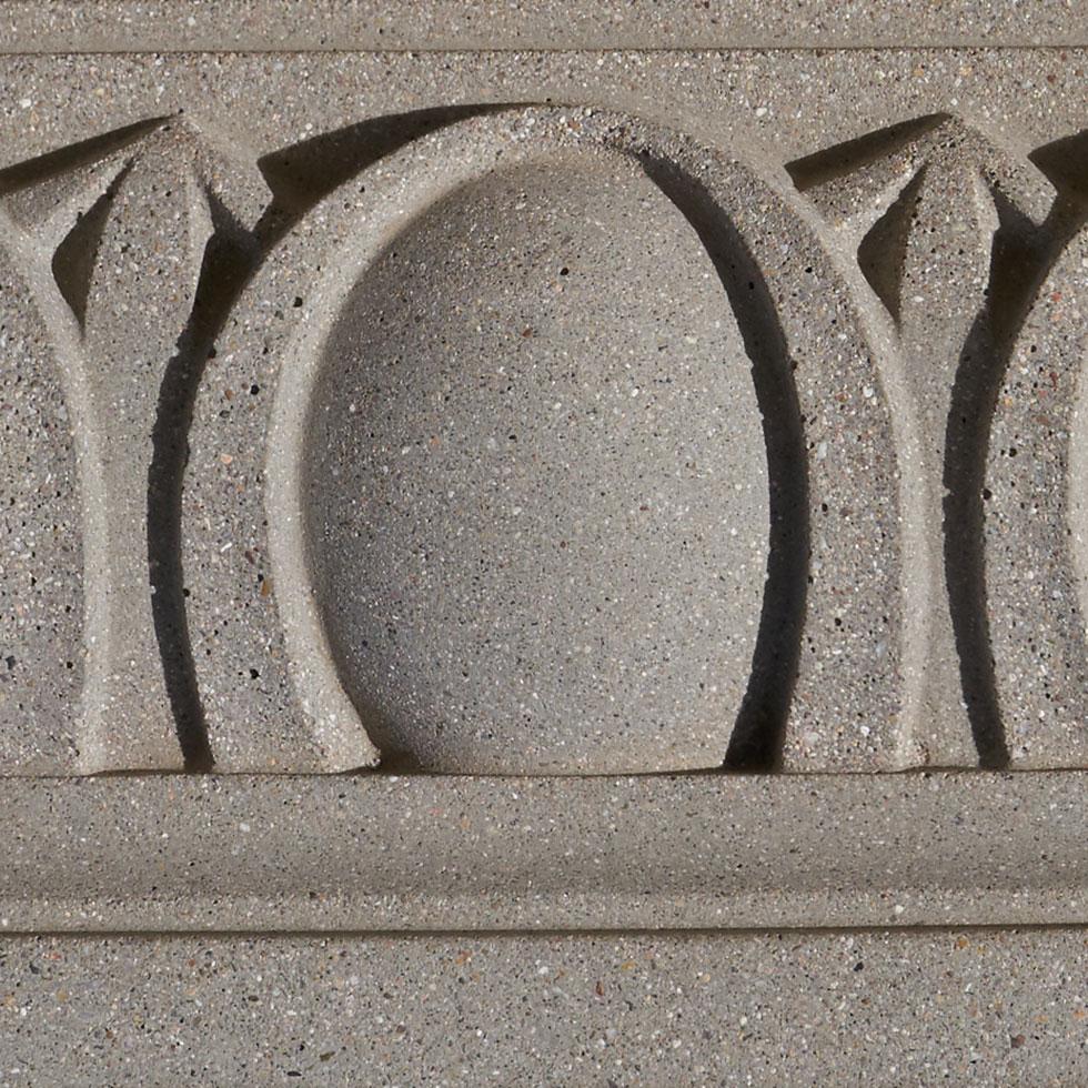 precast concrete texture etched