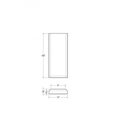 M23 T DS 8*23-5/8x1-5/8