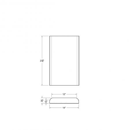 M23 S DS 12*23-5/8x1-5/8